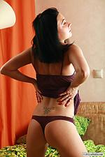 Naked locker babe, crystal milana porn