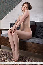 Slender, flexible body with smooth complexion and tight details.