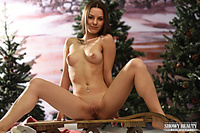 Beauty girl nature masterpieces stripping huge modeling