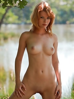Mia sollis mia sollis strips her dress outdoors as she shows off her amazing body.