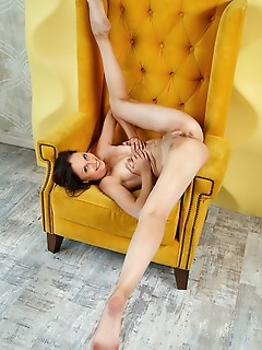 Sade mare sade mare in provocative yet artistic poses that showcases her lean figure and sexy, long legs