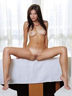Zelda b sweet zelda b takes off her clothes with a smile on her face, and shows off her beautiful, tanned body