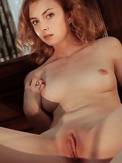 Jamie joi jamie joi sensually strips as she bares her slender body and sweet pussy.
