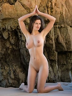 Ukrainian 18 age stripping fresh sensually enchanting