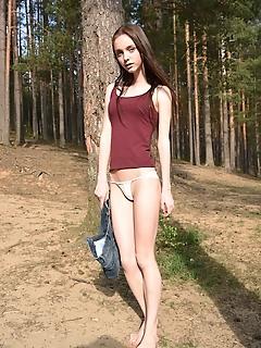 Outdoor nudity