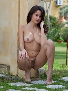 With her amazingly small build, slender physique, perky nipples, firm and tight butt, agata
