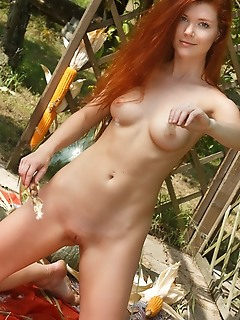 Mia sollis mia sollis shows off her sexy ass and sweet pussy outdoors.
