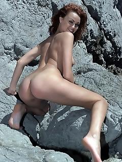 Teen free gallery russian nude woman ocean, sea, water
