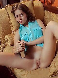 Maria espen maria espen shows off her nubile body on her debut series.