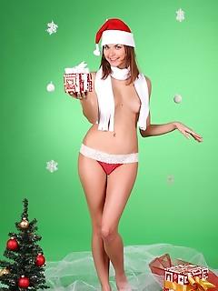 Santa free pics of naked girls poses