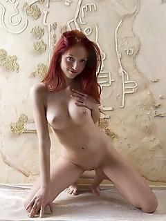 Hot nude redhead