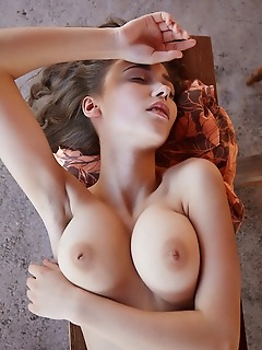 Mila azul top model mila azul displays her slender body with gorgeous tits and sweet pussy.