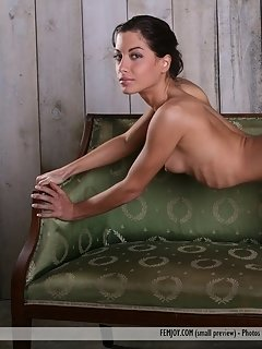 Delightfully petite and cute, with effortless allure and natural beauty, gia