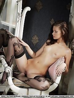 Moody erotica with an adorably elegant cutie.