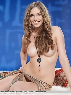 Womanly curves, perky nipples, gorgeous body, and delightfully engaging personality.
