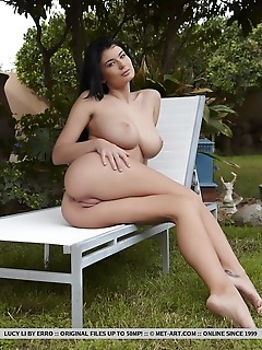"""Lucy li """"lucy lis breathtaking curves starting with her beautiful breasts, slender waist, meaty ass, and sexy feet is a sight to behold"""""""