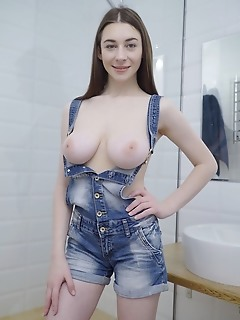 Boobs in action