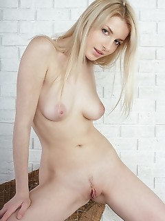 Adorable nude girl