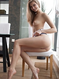 Patritcy a patritcy a takes off her printed bodycon dress and starts showing off her long and slender body with beautiful, svelte legs, tight ass, and