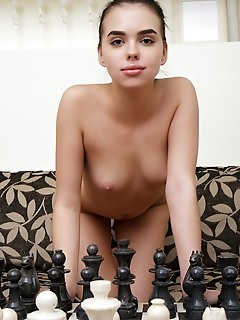 Venice lei venice lei flaunts her slender, sexy body as she plays chess.