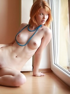 Adorable redhead honey